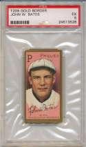 1911 T205 13 Bates PSA 5
