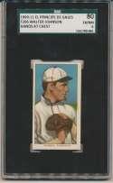 1909 T206 229 Johnson (hand at chest) SGC 6 (EPDG back)