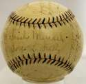1922 Giants  Team Ball  JSA LOA (FULL)