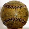 1931 Indians  Team Ball w/Walter Johnson 5