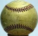 1933 Senators  Team Ball 4 JSA LOA (FULL)