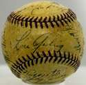 1939 Yankees  Team Ball 7