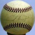 1941 Browns  Team Ball 4 JSA LOA