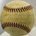 1941 Browns  Team Ball 7.5