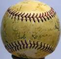 1942 Senators  Team Ball 7 JSA LOA