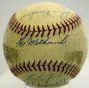 1944 Red Sox  Team Ball 7