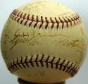 1945 Panama League  Team Ball  JSA LOA
