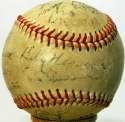 1947 Pirates  Team Ball w/Hank Greenberg 6 JSA LOA (FULL)