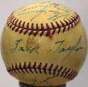1949 Browns  Team Ball 6 JSA LOA