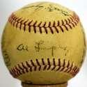 1952 Indians  Team Ball 6.5