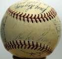 1953 Giants  Team Ball 8 JSA LOA