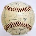 1956 NL All Stars  Team Ball w/8 HOFers 8.5