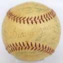 1956 Giants  Team Ball 7 JSA LOA (FULL)