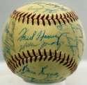 1958 NL All Stars  Team Ball 9 JSA LOA (FULL)