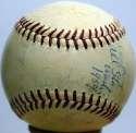 1959 NL All Stars  Team Ball 8 JSA LOA