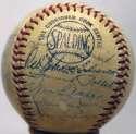 1961 Cardinals  Team Ball 7 JSA LOA