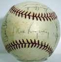 1961 LA Angels  Team Ball 5