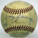 1961 Tigers  Team Ball 6.5
