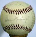 1964 Pirates  Team Ball w/real Clemente 8