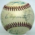1972 Indians  Team Ball 8