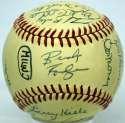 1981 Brewers  Team Ball 8