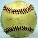 1981 Yankees  Team Ball 8