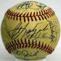 1983 Red Sox  Team Ball 8