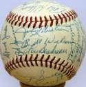 1955 Kansas City As  Team Ball 9
