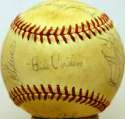 1953 Yankees  Team Ball 8