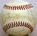 1982 Brewers  Team Ball 7