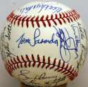 1989 NL All Stars  Team Ball w/6 HOFers 9.5