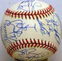1997 Marlins  Team Ball 9.5
