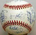 1997 Marlins  Team Ball 9