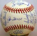 1998 Yankees  Team Ball 9.5