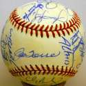 1999 Yankees  Team Ball 9