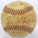 1934 Cardinals  Team Ball 6.5 JSA LOA (FULL)