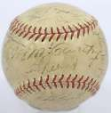 1937 Yankees  Team Ball 6.5 PSA DNA (FULL)