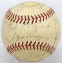 1940 Yankees  Team Ball