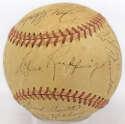 1940 Yankees  Team Ball 7