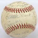 1945 Philadelphia As  Team Ball w/Mack & Simmons 7 (OAL Harridge) JSA LOA (FULL)