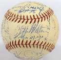 1946 Giants  Team Ball w/Ott & Hubbell 8.5
