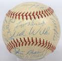 1948 Cardinals  Team Ball w/Musial & Medwick 8 JSA LOA (FULL)