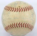 1952 Brooklyn Dodgers  Team Ball w/Campanella 5.5 JSA LOA (FULL)