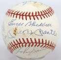 1953 Yankees  Team Ball (reunion) 7 JSA LOAA*
