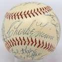 1954 Braves  Team Ball w/Rookie Aaron 9