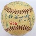 1954 Reds  Team Ball 8