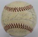 1955 Milwaukee Braves  Team Ball 6