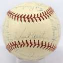 1957 Dodgers  Team Ball (all clubhouse) 8.5