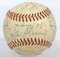 1959 Pirates  Team Ball w/Clemente 8