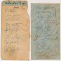 Team Sheet  1968 Red Sox 8